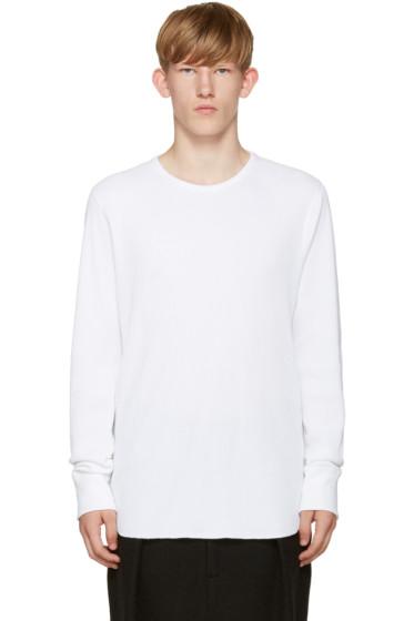 Rag & Bone - White Waffle Standard Issue T-Shirt