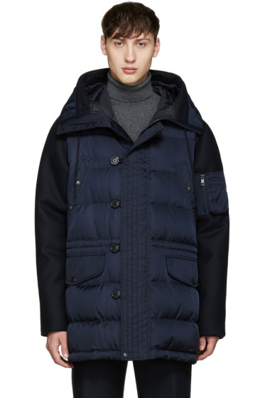 Moncler - Navy Montemart Down Jacket
