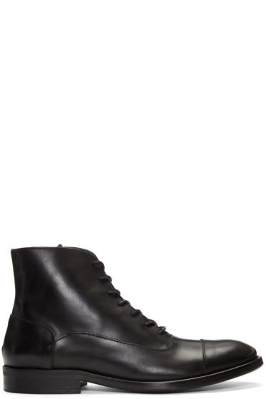 Tiger of Sweden - Black Harry Boots