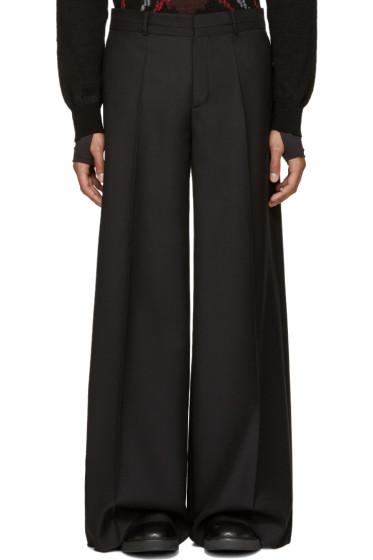 Maison Margiela - Black Wide-Leg Trousers