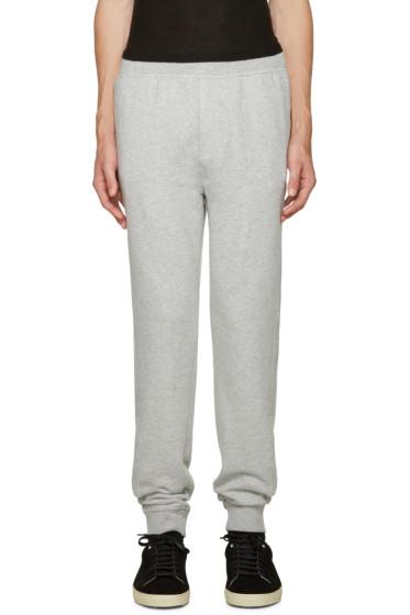 T by Alexander Wang - Grey Vintage Fleece Lounge Pants