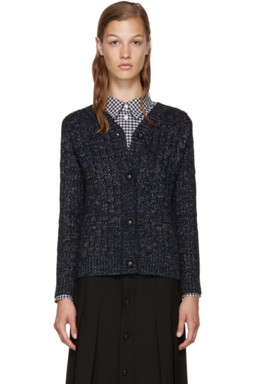 A.P.C. - Navy Stacy Cardigan