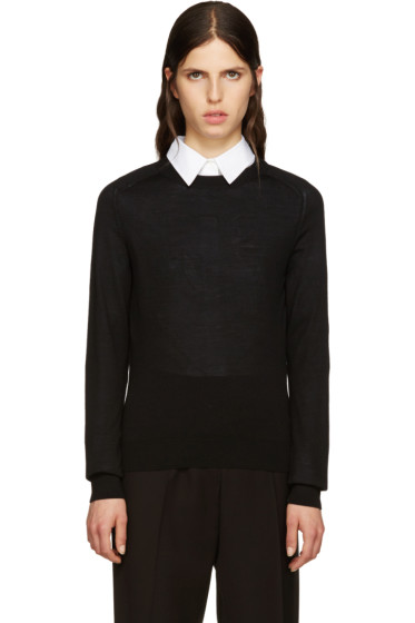 A.P.C. - Black Wool Maud Pullover