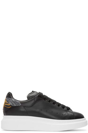Alexander McQueen - Black Moth Oversized Sneakers