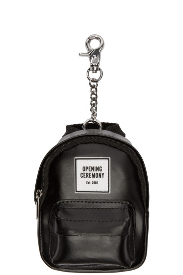 Opening Ceremony - Black Backpack Keychain