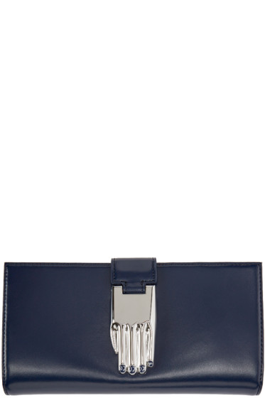 Opening Ceremony - Navy Leather Misha Wallet