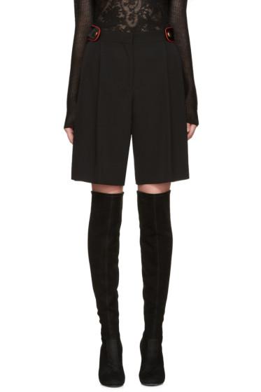 Givenchy - Black Wool Shorts