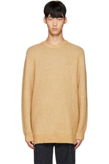3.1 Phillip Lim - Tan Wool Tunic Sweater