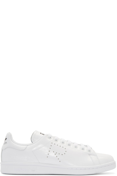 Raf Simons - White adidas Edition Stan Smith Sneakers