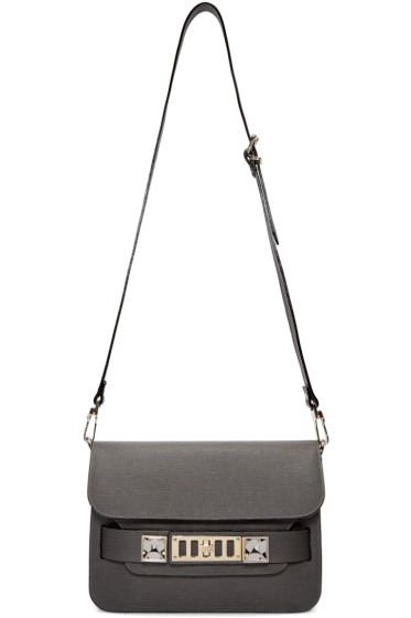 Proenza Schouler - Grey Mini Classic PS11 Bag