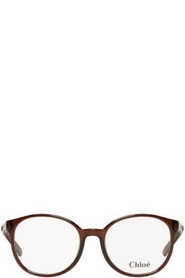 Chloé - Brown Round Glasses