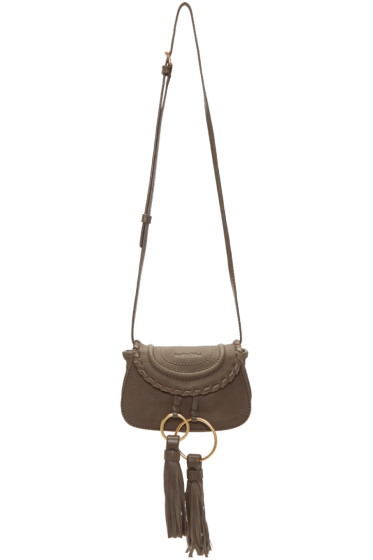 See by Chloé - Taupe Mini Tassel Bag