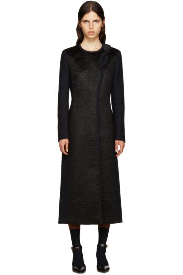 Roksanda - Navy Wool Evanton Coat