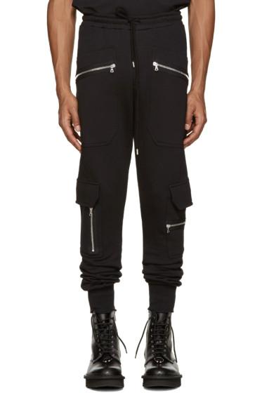 Markus Lupfer - Black Zip Lounge Pants