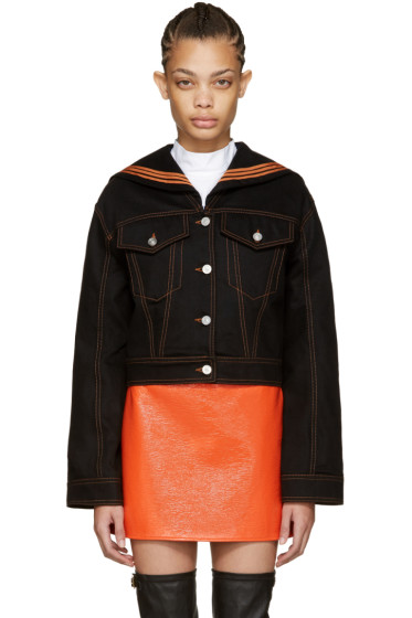 Kenzo - Black Denim Sailor Jacket