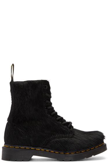 Dr. Martens - Black Horse Hair 1460 Pascal Boots