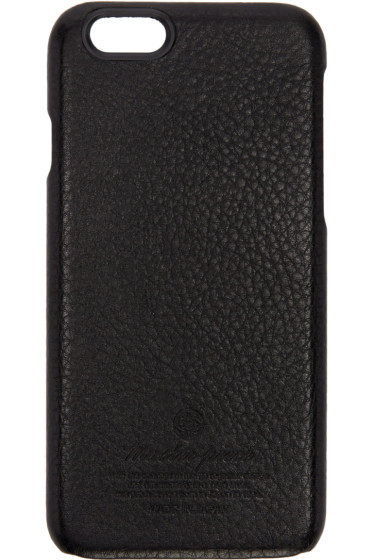 Master-Piece Co - Black Leather iPhone 6 Case