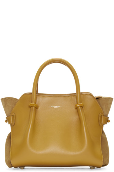 Nina Ricci - Yellow Extra Small Marche Bag