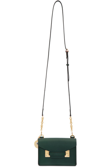 Sophie Hulme - Green Nano Milner Shoulder Bag