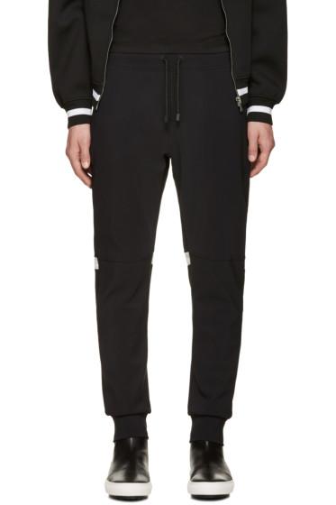 Calvin Klein Collection - Black Knit Major Lounge Pants