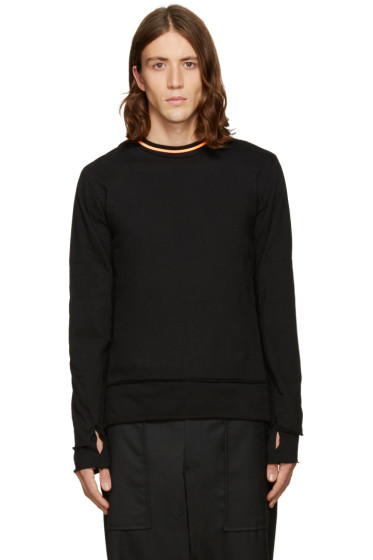 Facetasm - Black Layered Pullover