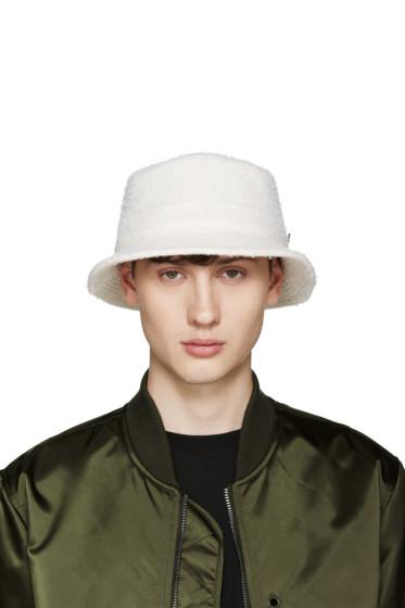 Larose - Off-White Casentino Bucket Hat