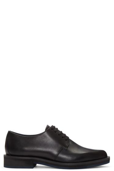 Jil Sander Navy - Black Leather Derbys