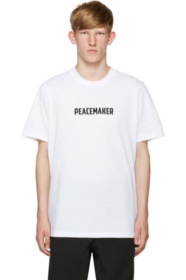 OAMC - White Peacemaker T-Shirt