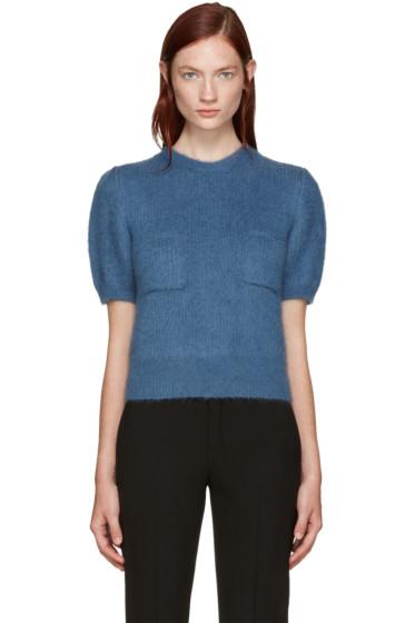 Erdem - Blue Wool Jessa Sweater