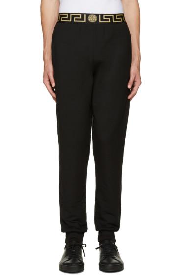 Versace Underwear - Black Medusa Lounge Pants