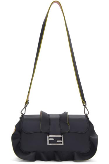 Fendi - Blue & Pink Baguette Bag
