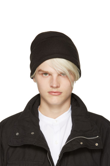 Attachment - Grey Wool Beanie