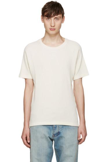 Fanmail - Off-White Waffle T-Shirt