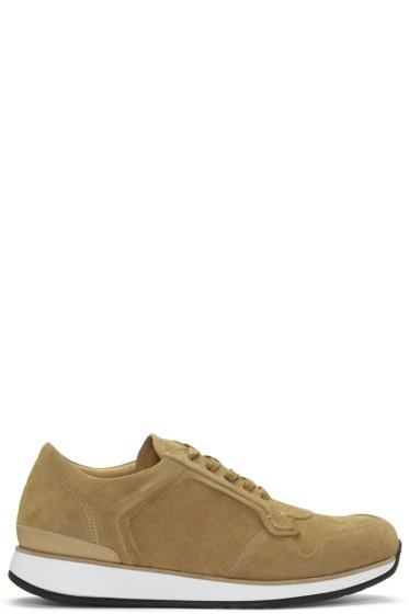 No.288 - Tan Suede Bleecker Sneakers