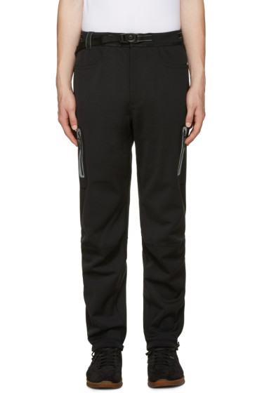 and Wander - Black Windstopper Trousers