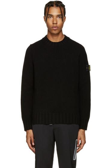Stone Island - Black Knit Sweater