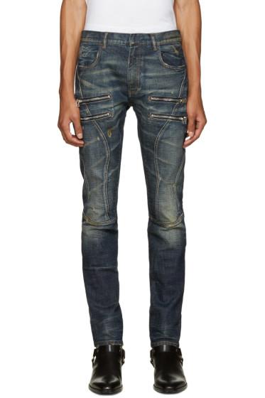 Faith Connexion - Indigo Zipper Jeans