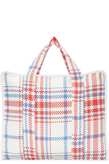 Writtenby - White Woven Laundry Tote