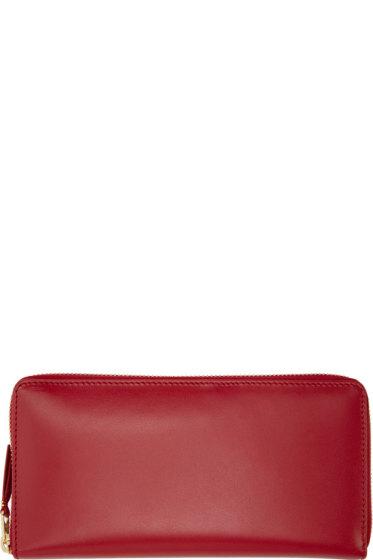 Comme des Garçons Wallets - Red Classic Continental Wallet