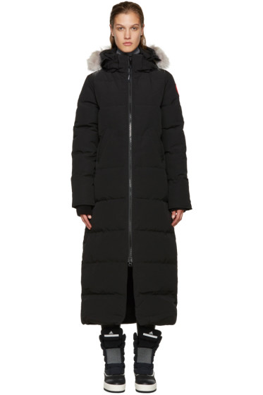 Canada Goose - Black Down Mystique Parka
