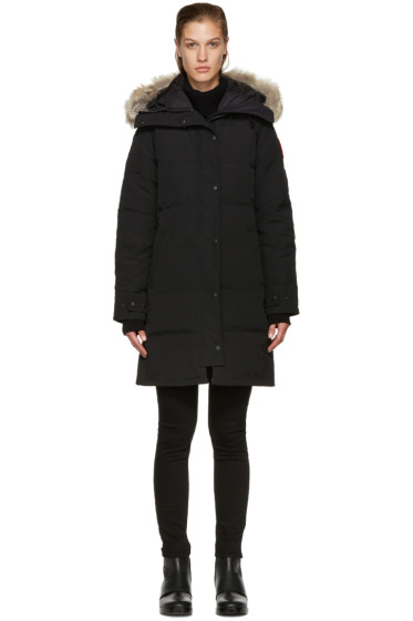 Canada Goose - Black Down Shelburne Jacket
