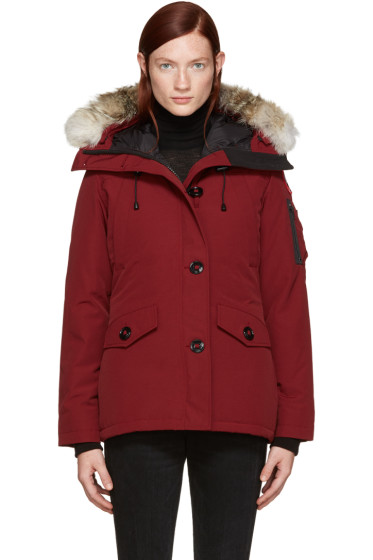 Canada Goose - Red Down Montebello Parka