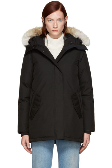 Canada Goose - Black Black Label Collection Cannington Parka