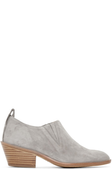 Rag & Bone - Grey Suede Thompson Boots