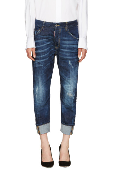 Dsquared2 - Indigo Work Wear Jeans