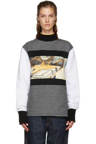 Opening Ceremony - Tricolor Jet Fighter Sweatshirt