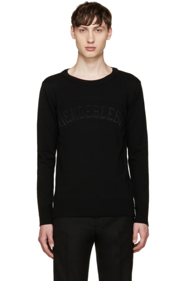 Juun.J - Black Genderless Sweater
