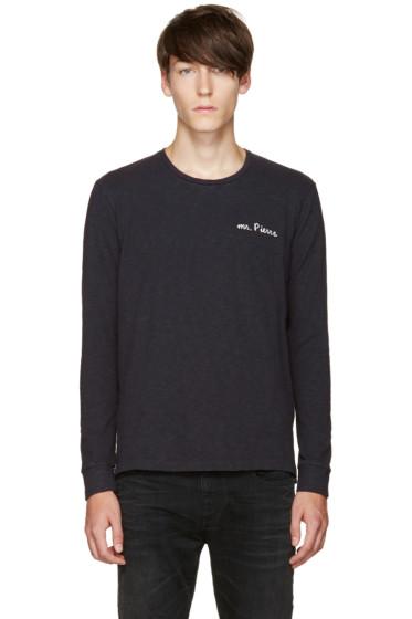 Pierre Balmain - Navy 'Mr. Pierre' T-Shirt