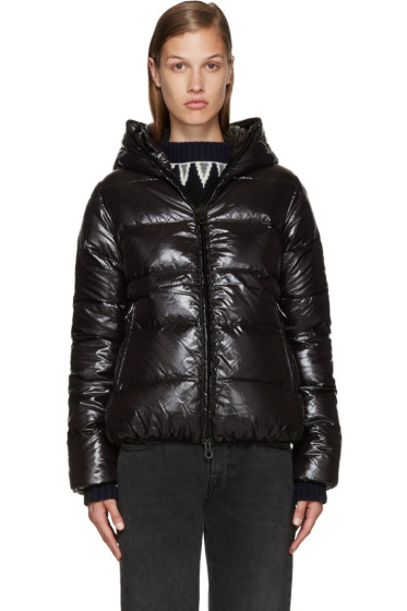 Duvetica - Black Quilted Down Jacket