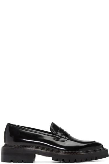 Yang Li - Black Classic Penny Loafers